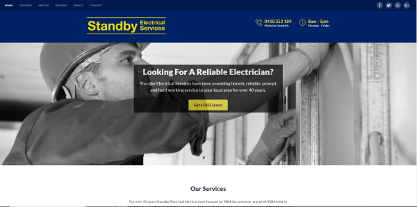 Standby Electrical Services